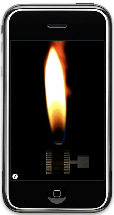 Sonic lighter app for the iPhone from Sonic Muie.
