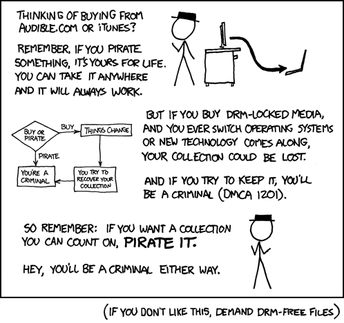 Sad, but true. xkcd